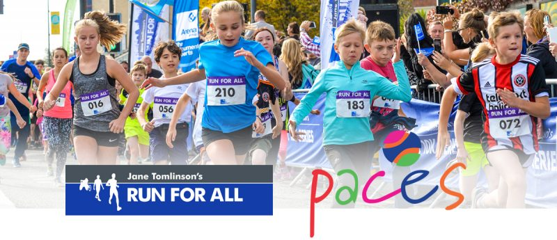 Run for All - Sheffield - Paces - Website