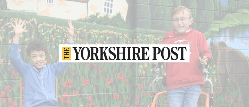 Lennie and Tobias Yorkshire Post - Home Page
